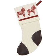 Eastern Accents Dala Horse Stocking
