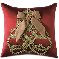 Eastern Accents Peace Tree Pillows in Madden Honey 100% Polyester