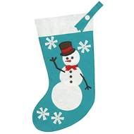 Eastern Accents Frosty Friend Stocking