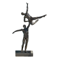 Global Views Dancers Iron Sculpture - Left Arm Lift 8.82449