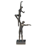 Global Views Dancers Iron Sculpture - Right Arm Lift 8.82448