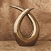 Global Views Loop Ceramic Sculpture - Bronze 1.10646