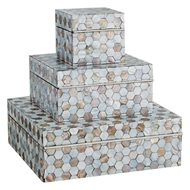 Global Views Mother of Pearl Decorative Box