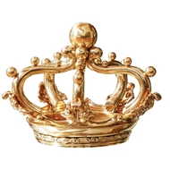 Global Views Regal Crown Sculpture - Brass JB9.90098