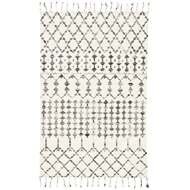 Jaipur Riot Rug From Adair Collection ADA02 - Ivory/Black