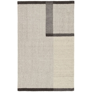 Jaipur Capone Rug From Asos Collection AOS05 - Beige/Dark Gray
