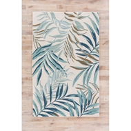 Jaipur Peninsula Rug From Coastal Resort Collection COR30 - White/Blue