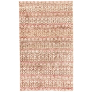 Jaipur Cane Rug From Croix Collection CRX03 - Brown/Red