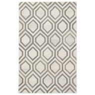 Jaipur Hassan Rug From City Collection CT108 - White/Gray