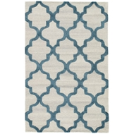 Jaipur Miami Rug From City Collection CT111 - Silver/Blue