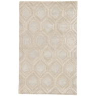 Jaipur Hassan Rug From City Collection CT117 - Beige/Cream