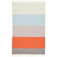 Jaipur Swane Rug From Desert Collection DES16 - Orange/Blue