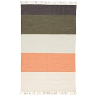 Jaipur Swane Rug From Desert Collection DES18 - Coral/Green