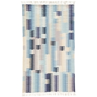Jaipur Carver Rug From Desert Collection DES21 - Blue/Gray