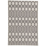 Jaipur Calcutta Rug From Decora by Nikki Chu Collection DNC01 - Gray/Black
