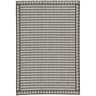 Jaipur Melon Rug From Decora by Nikki Chu Collection DNC10 - Silver/Black