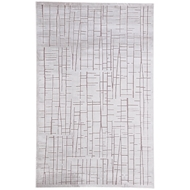Jaipur Palmer Rug From Fables Collection FB158 - Silver/Gray