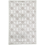 Jaipur Carlyle Rug From Fables Collection FB161 - White/Dark Gray