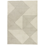 Jaipur Tegan Rug From Fusion Collection FN58 - Gray/Cream