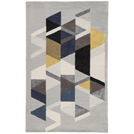 Jaipur Apex Rug From Genesis Collection GES02 - Light Gray/Multicolor