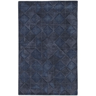 Jaipur Jace Rug From Genesis Collection GES04 - Dark Blue