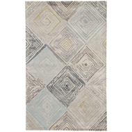 Jaipur Holland Rug From Genesis Collection GES05 - Light Gray/Blue