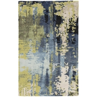 Jaipur Matcha Rug From Genesis Collection GES10 - Blue/Green
