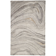 Jaipur Atha Rug From Genesis Collection GES11 - Gray/Gold