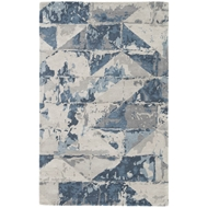 Jaipur Conde Rug From Genesis Collection GES12 - Gray/Blue