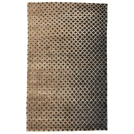 Jaipur Eclipse Rug From Giza By Nikki Chu Collection GNC02 - Tan/Black