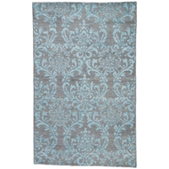 Jaipur Hillier Rug From Heritage Collection HR16 - Gray/Turquoise