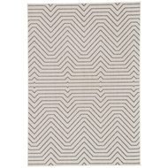 Jaipur Prima Rug From Knox Collection KNX09 - Light Gray/Black