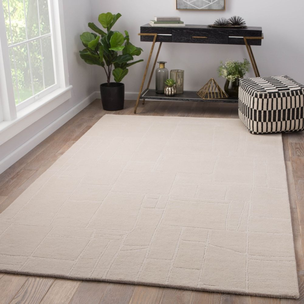Room View Jaipur Elowah Rug From Lounge Collection Loe43 Cream