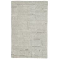 Jaipur Elowah Rug From Lounge Collection LOE44 - Light Gray