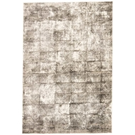 Jaipur Valentino Rug From Masonic Collection MAC08 - Dark Gray/White