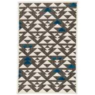 Jaipur Sims Rug From Meridian Collection MED01 - Gray/White