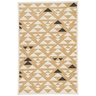 Jaipur Sims Rug From Meridian Collection MED02 - Beige/White