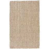 Jaipur Alix Rug From Naturals Tobago Collection NAT22 - Taupe/White
