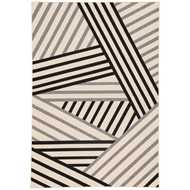 Jaipur Begley Rug From Patio Collection PAO05 - Black/Gray