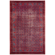 Jaipur Concord Rug From Revolution Collection REL04 - Red/Blue