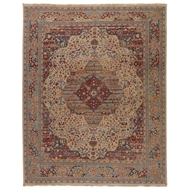 Jaipur Celestial Rug From Revolution Collection REL05 - Beige/Red