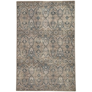 Jaipur Williamsburg Rug From Revolution Collection REL06 - Gray/Navy