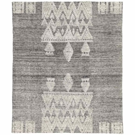 Jaipur Torsby Rug From Rize Collection RIZ01 - Black/Ivory
