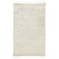 Jaipur Azores Rug from Tala Collection - Ivory & Light Gray