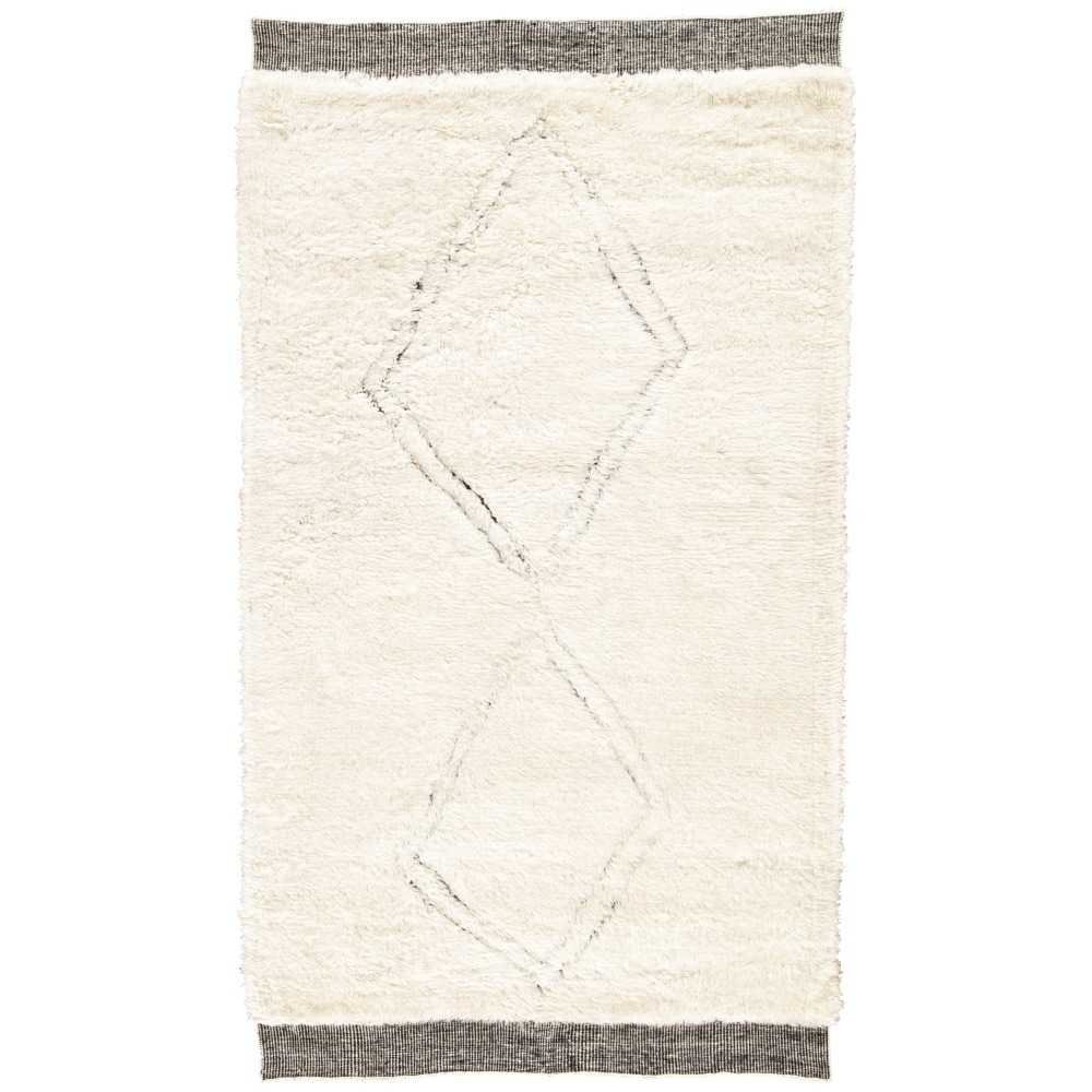 Jaipur Ephesus Rug From Tala Collection TAL06 - Ivory/Black