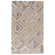 Jaipur Nimbus Rug From Traditions Made Modern Premium Collection TMP01 - Brown/Gray
