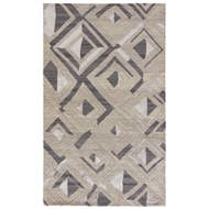 Jaipur Nimbus Rug From Traditions Made Modern Premium Collection TMP02 - Gray/White