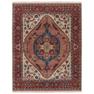 Jaipur Avon Rug From Uptown By Artemis Collection UT09 - Red/Blue