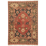 Jaipur Azra Rug From Village By Artemis Collection VBA02 - Red/Black