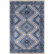 Jaipur Hobbs Rug From Village By Artemis Collection VBA03 - Blue/Light Gray